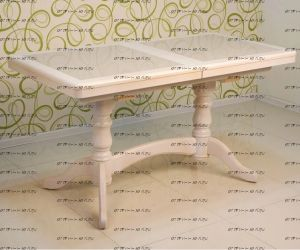 Стол обеденный Бристоль №7 с гранитом (ВМК Шале) (120/150х70х75)