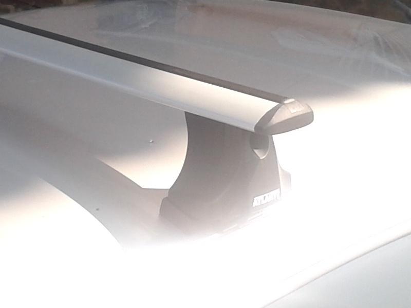 Багажник на крышу Suzuki Swift, Атлант, крыловидные аэродуги