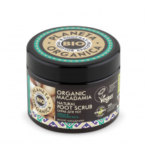 Organic macadamia Скраб для ног, 300 мл