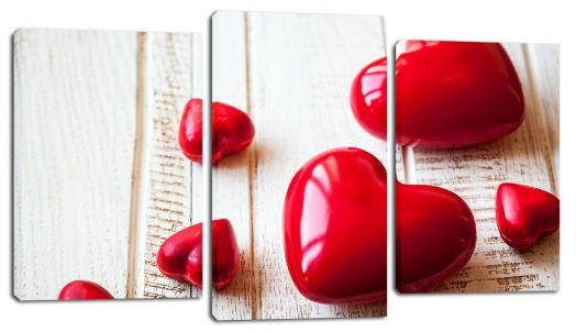 Модульная картина Сердца