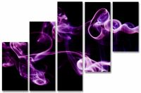 Модульная картина Пурпурный смоук