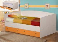 Кровать с ящиками + Матрас в подарок