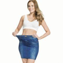 Утягивающая юбка Trim 'N' Slim Skirt(цвет синий)