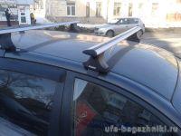 Багажник на крышу Suzuki Liana sedan, Атлант, крыловидные дуги