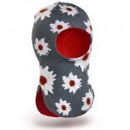 Шапка-шлем для девочки 2-5 лет, SG109