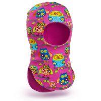 Шапка-шлем для девочки 2-5 лет, SG108