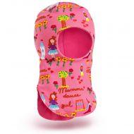 Шапка-шлем для девочки 2-5 лет, SG105