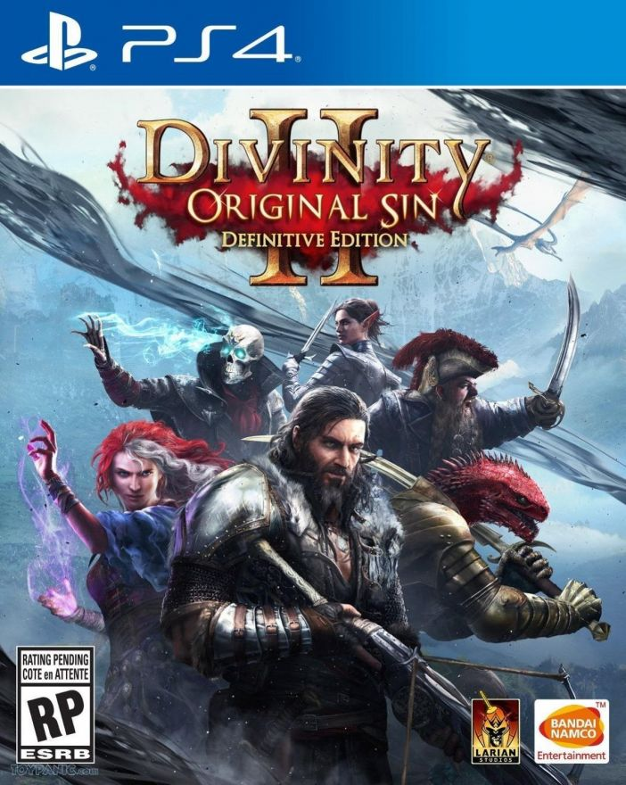 Игра Divinity Original Sin II Definitive Edition (PS4)