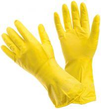 Универсальные резиновые перчатки Frida жёлтые размер L 222620