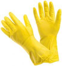 Универсальные резиновые перчатки Frida жёлтые размер M 222610