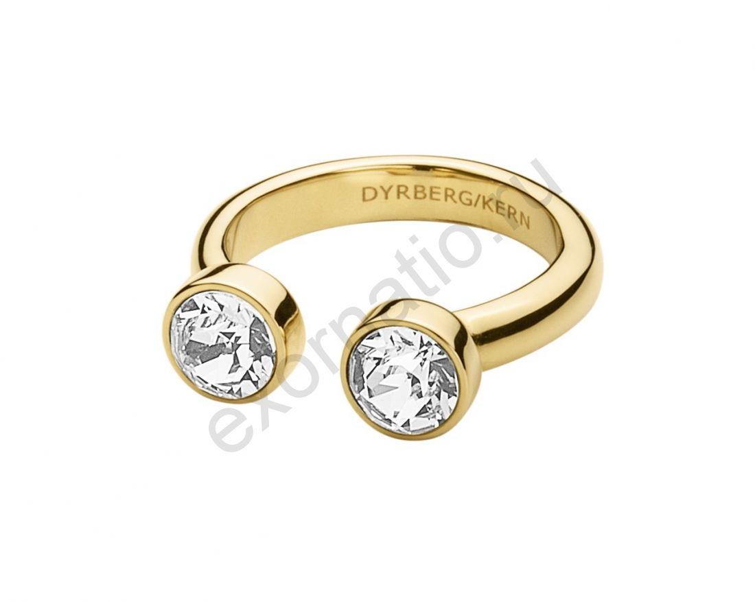 Кольцо Dyrberg Kern Fina 336840. Коллекция Ice