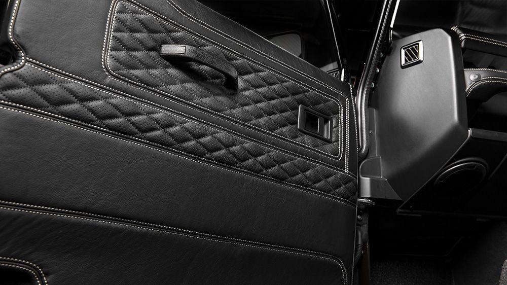 Обшивка панелей дверей (Land Rover Defender 90)