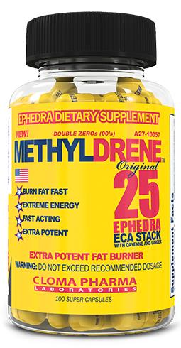 Methyldrene 25 от Cloma Pharma 100 кап