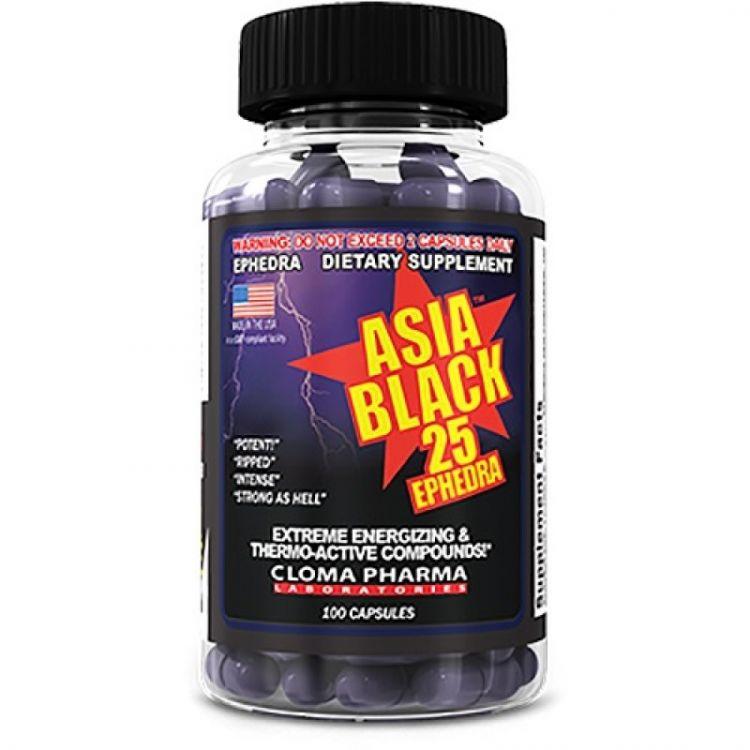CLOMA PHARMA ASIA BLACK 100 кап