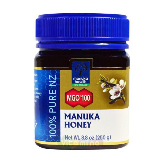 Мед Манука MGO 100+ Manuka Honey, 250г