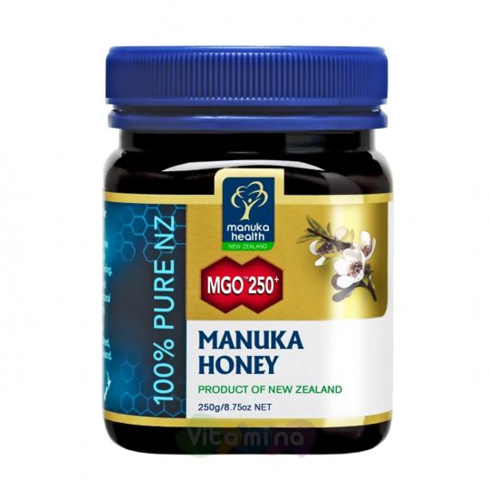 Мед Манука MGO 250+ Manuka Honey, 250г