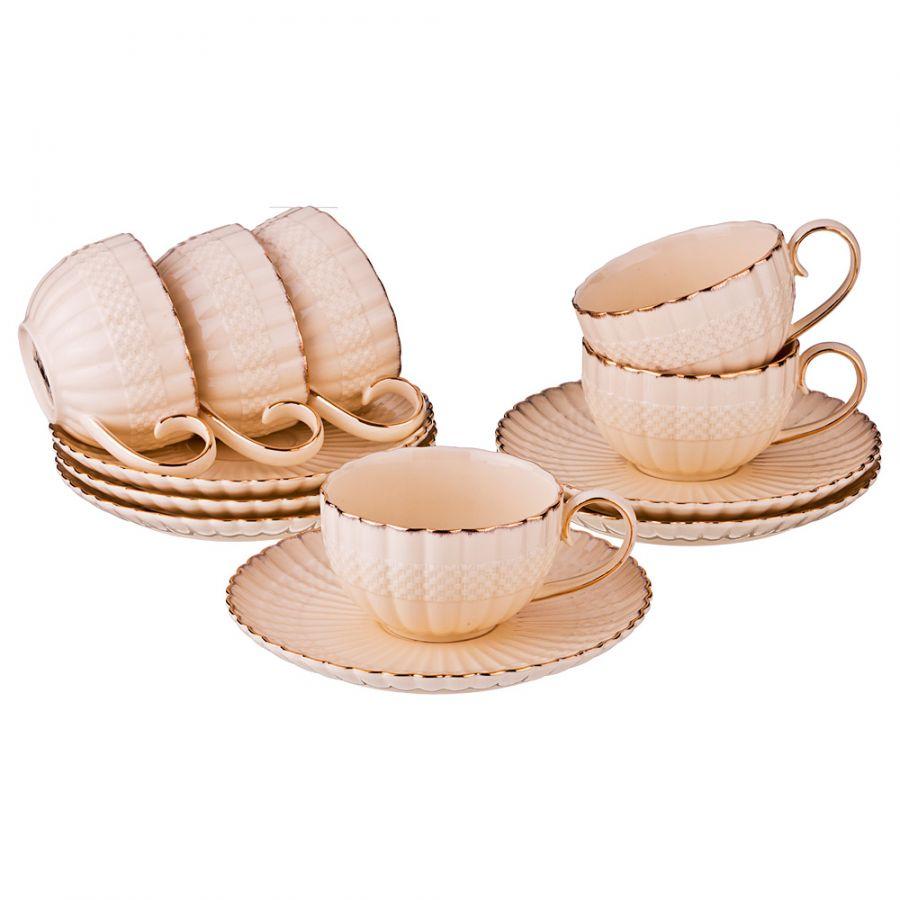 "Чайный набор на 6 персон ""Айла"", 12 пр., 200 мл"