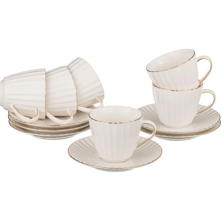 "Чайный набор на 6 персон ""Аврора"", 12 пр., 250 мл"