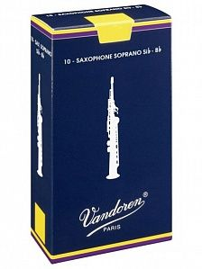 VANDOREN SR2025 Traditional Трость №2,5 для саксофона Сопрано
