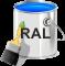 Краска в банках по каталогу RAL