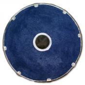 Круглый щит с локтевым хватом. Стальной кант