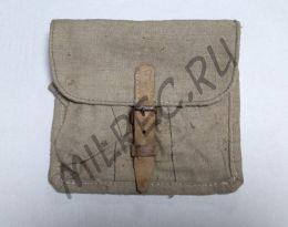 Подсумок гранатный РККА, под гранаты Ф-1, на пряжке.