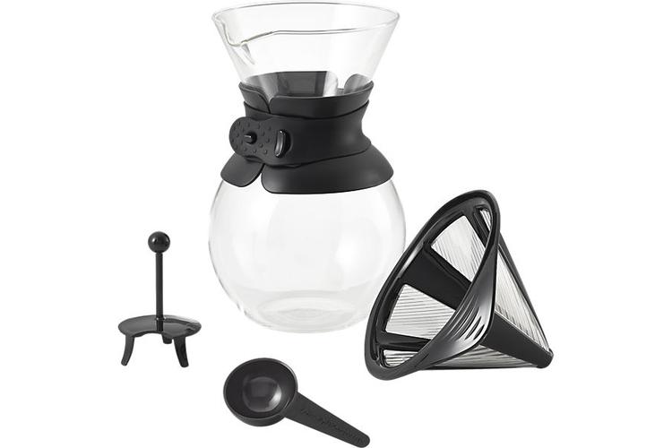 Пуровер Bodum Pour Over, 1л, черный