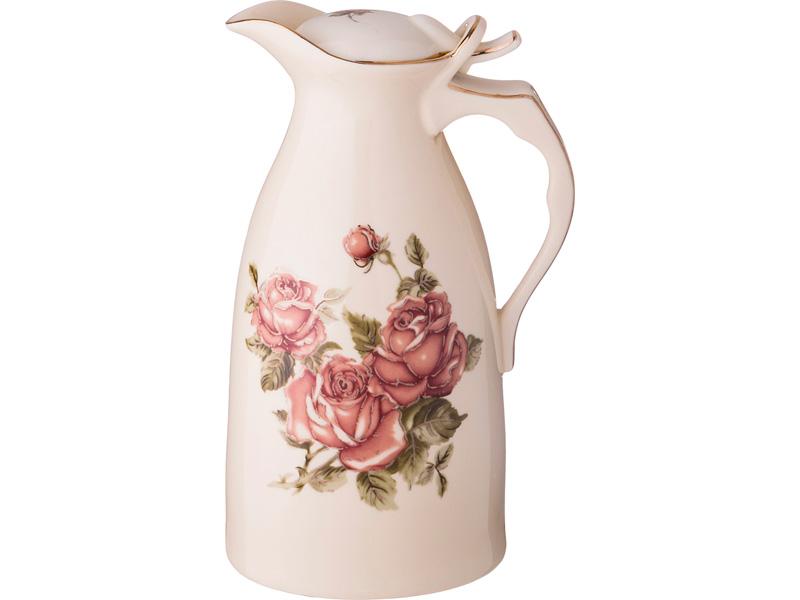 "Кувшин ""Корейская роза"" h=22 см, 1000 мл"