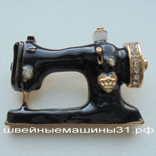 Брошь (брошка) швейная машинка       цена 130 руб.