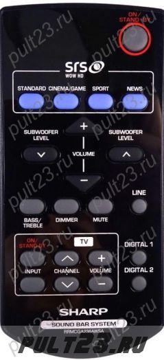 SHARP RRMCGA236AWSA, HT-SB350