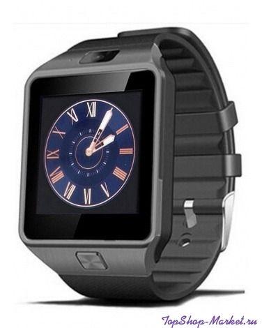Умные часы SMART WATCH DZ09, Цвет: Чёрный