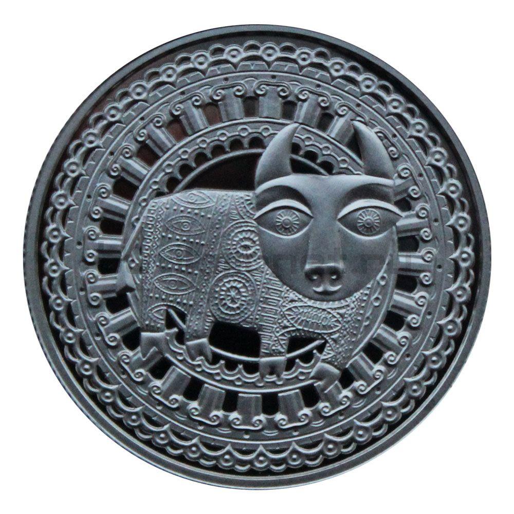 1 рубль 2009 Беларусь Телец (Знаки зодиака)
