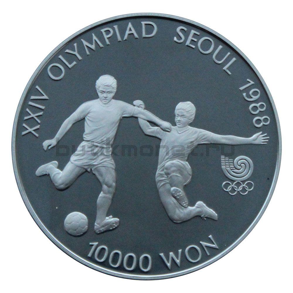 10000 вон 1988 Южная Корея XXIV летние Олимпийские Игры - Футбол