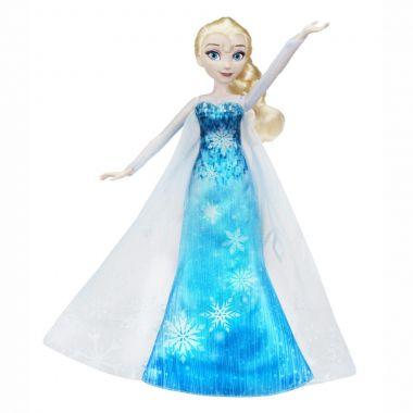 Кукла Эльза в музыкальном платье пианино