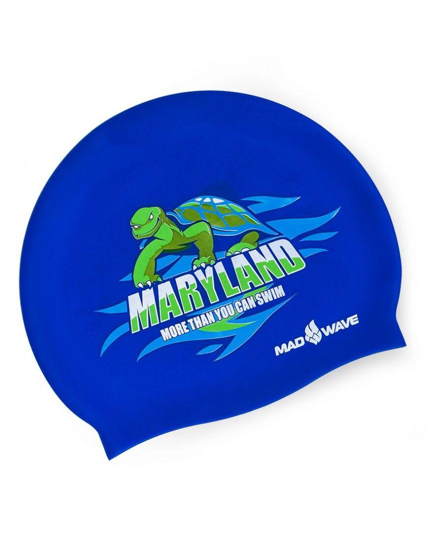 Шапочка для плавания силиконовая Mad Wave MARYLAND