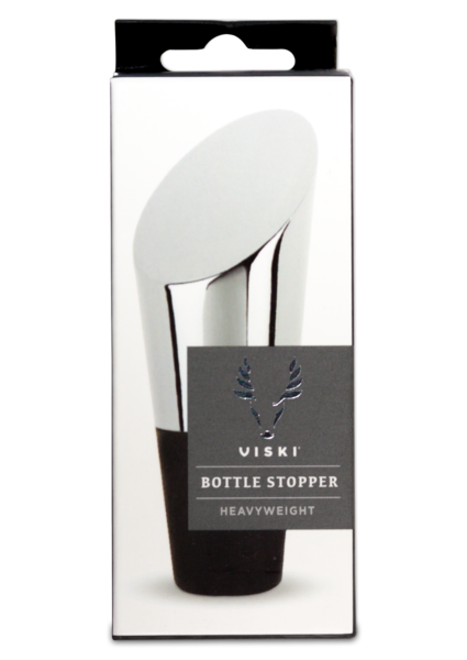 Polished Stainless Heavyweight Bottle Stopper