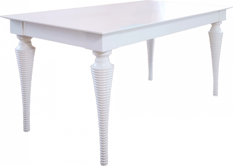 Стол прямоугольный Рино-1 с резными ножками