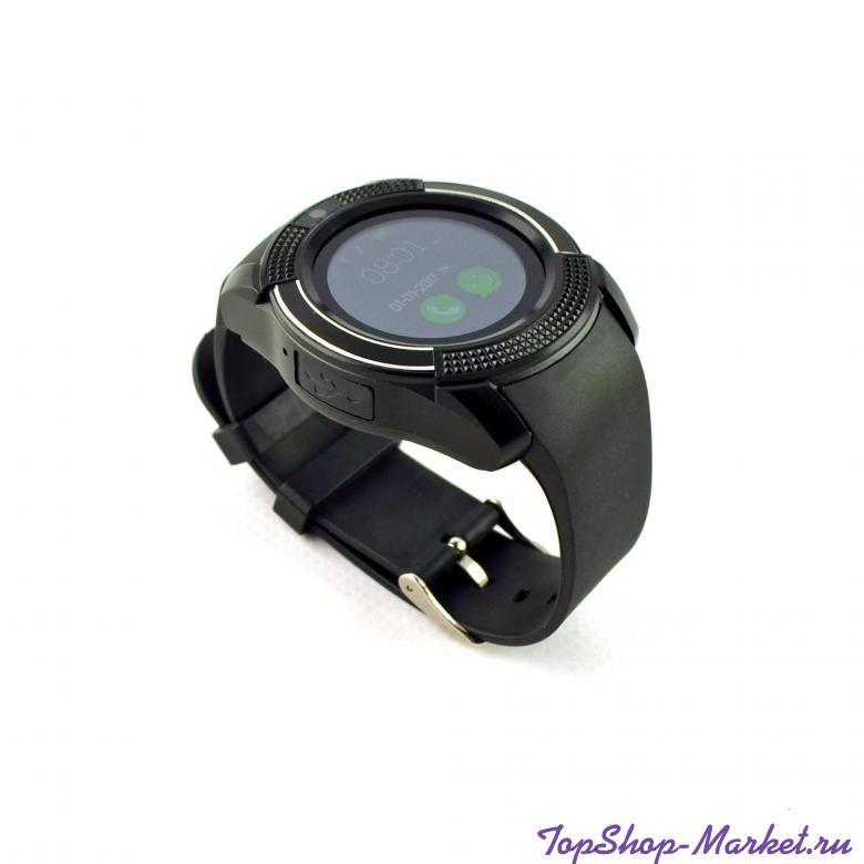 Умные часы Smart watch V8, Цвет: Чёрный