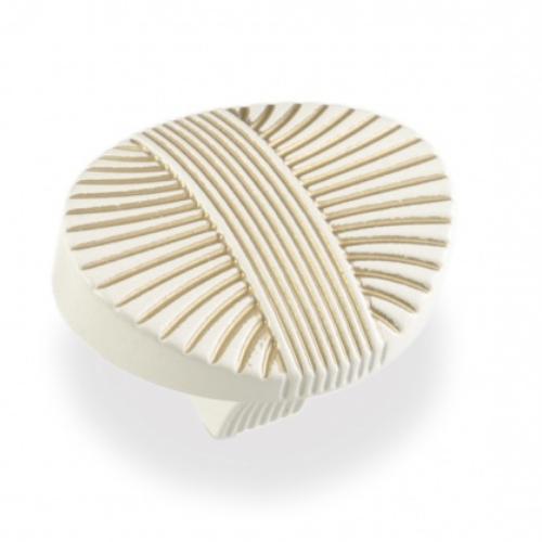 Ручка-грибок FВ-023 000 золото прованс/1013 жемчужно- белый матовый (TЗ)
