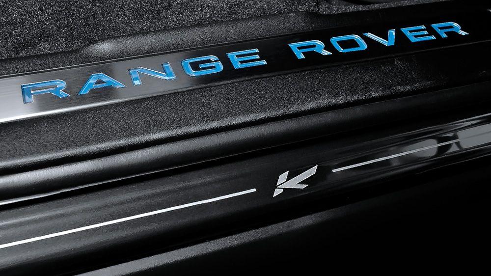 Накладки на пороги (Range Rover Evoque)