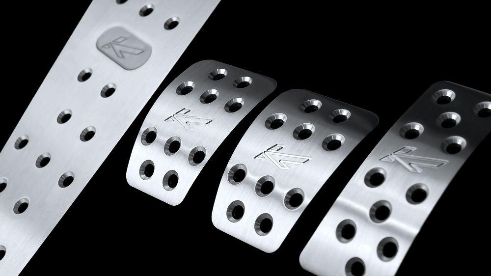 Алюминиевые педали (AUDI A5)