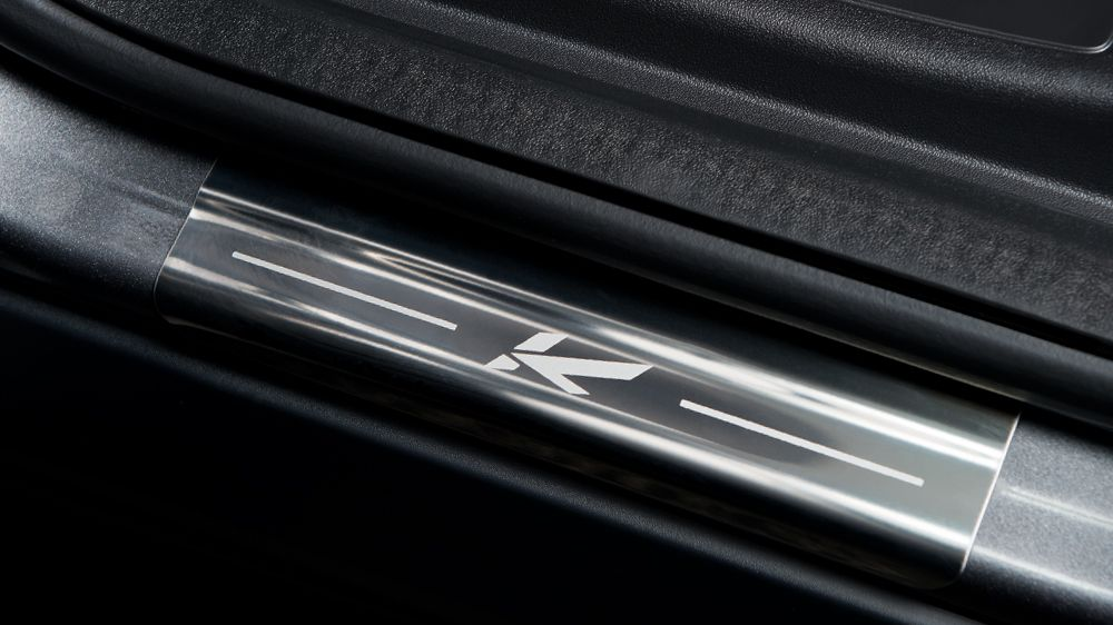 Накладки на пороги (Land Rover Discovery Sport)