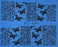 Наклейка водная для дизайна ногтей V041