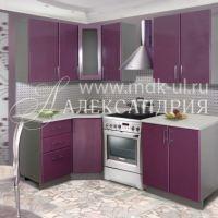 """Угловой кухонный гарнитур """"Александрия """" 1,2*2,0 м."""