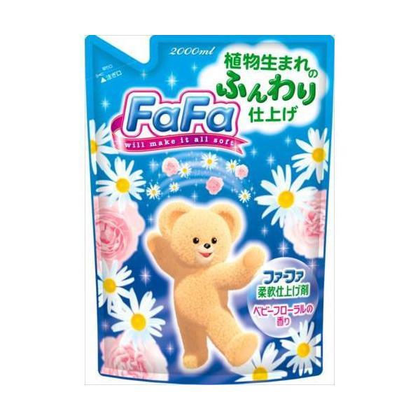 Кондиционер для детского белья «FaFa» с цветочным ароматом, запасной блок 1650мл