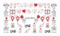 Слайдер-дизайн Fonix 4079 Сердечки