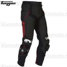 Штаны Furygan Raptor кожаные, Чёрно-красные
