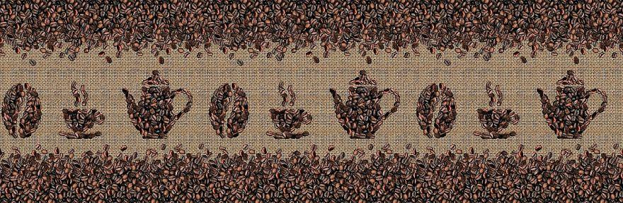 Фартук для кухни «Кофейные зёрна» ВИВАТ