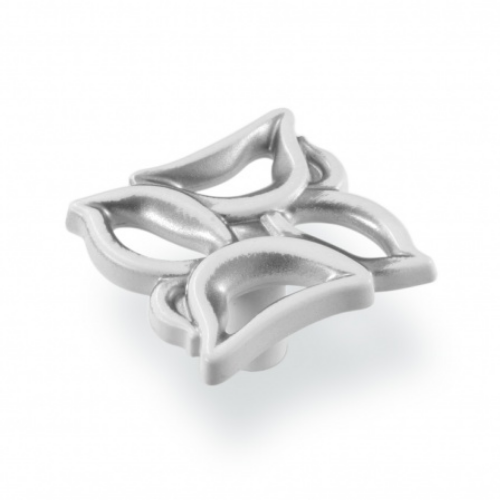 Ручка-грибок FВ-059 000 серебро прованс/9003 белый матовый (TЗ)