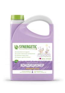 """Synergetic"" Биоразлагаемый кондиционер-ополаскиватель для белья SYNERGETIC: лавандовое поле, 2,75л."